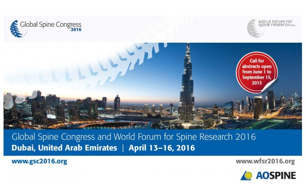 Global Spine Congress, Dubai 2016