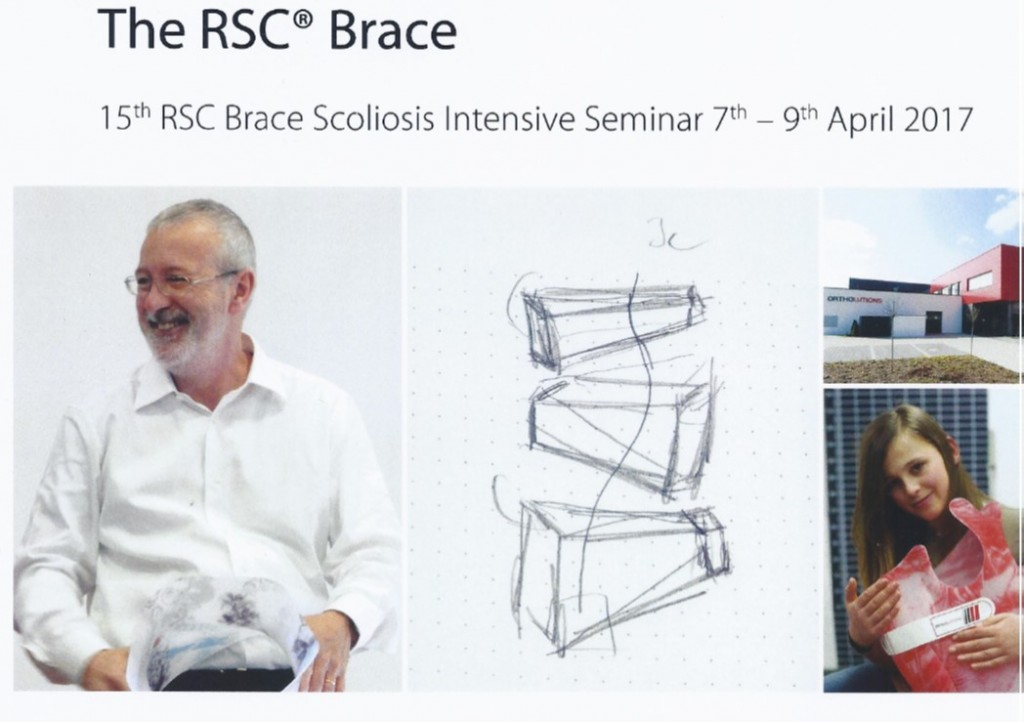15th RSC Brace Scoliosis Intensive Seminar, 7-9/4/2017, Rosenheim, Germany