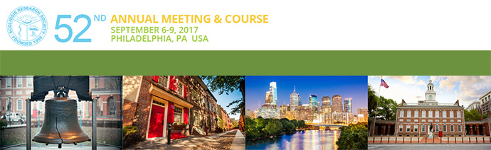 52nd ANNUAL MEETING & COURSE 2017, PHILADELPHIA, USA